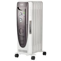 Обогреватель масляный BALLU BOH/TB-07FH, 1500 Вт, 7 секций, тепловентилятор, белый/серый