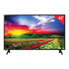 "Телевизор LG 43"" (109,2 см), 43LJ500V, LED, 1920х1080 Full HD, 16:9, 50 Гц, 2HDMI, USB, черный, 8,4 кг"