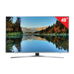"Телевизор SAMSUNG 49"" (124,5 см), UE49MU6400, LED, 3840x2160 UHD, Smart TV, Wi-Fi, 100 Гц, HDMI, USB, серый, 16 кг"