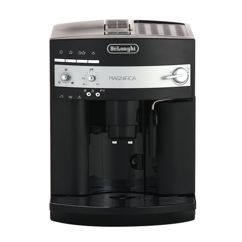 Кофемашина DELONGHI ESAM3000.B, 1350 Вт, объем 1,8 л, емкость для зерен 200 г, ручной капучинатор, черная