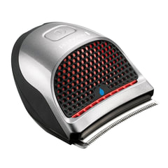 Машинка для стрижки волос REMINGTON HC4250, 10 установок длины, 9 насадок, аккумулятор+сеть, серебристая