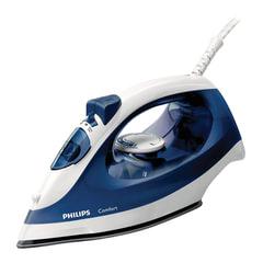 Утюг PHILIPS GC1430/20, 1700 Вт, антипригарное покрытие, самоочистка, синий/белый