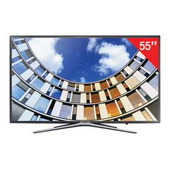 "Телевизор SAMSUNG 55"" (139,7 см), UE55M5500, LED, 1920x1080 Full HD, Smart TV, Wi-Fi, 100 Гц, HDMI, USB, черный, 17,6 кг"