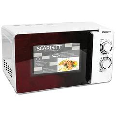 Микроволновая печь SCARLETT SC-MW9020S04M, объем 20 л, 700 Вт, механическое управление, таймер, белая
