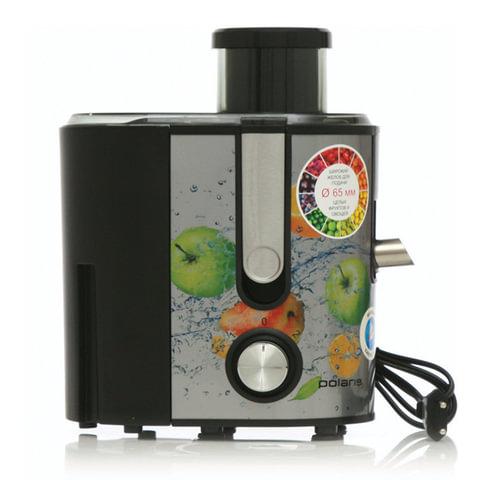 Соковыжималка POLARIS PEA 1232 Fruit Fusion, 1200 Вт, стакан 1,1 л, емкость для жмыха 2,7 л, сталь