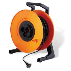 Сетевой удлинитель СТАРТ на катушке без заземл., 3 розетки, длина 50 м, max мощность 2200 Вт