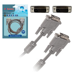 Кабель DVI-D Dual Link BELSIS, 2 м, для высокоскоростной передачи цифрового видео, 2 фильтра