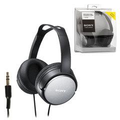 Наушники SONY MDR-XD150, проводные, Hi-Fi, 2 м, стерео, полноразмерные c оголовьем, с амбушюрами, черные