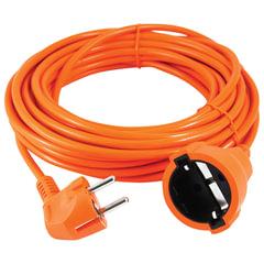 Удлинитель в бухте POWER CUBE, 1 розетка с заземлением, 10 м, 3х0,75 мм, 1300 Вт, оранжевый