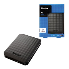 "Диск жесткий внешний SEAGATE (Maxtor) M3 Portable, 1Tb, 2,5"", USB 3.0, пластик, черный"