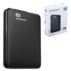 """Диск жесткий внешний WESTERN DIGITAL Elements Portable, 500 Gb, 2,5"""", USB 3.0, черный"""