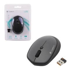 Мышь беспроводная LOGITECH M335, 3 кнопки + 1 колесо-кнопка, оптическая, черная