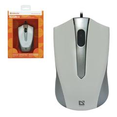 Мышь проводная DEFENDER ACCURA MM-950, USB, 2 кнопки + 1 колесо-кнопка, оптическая, серая