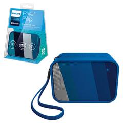 Колонка портативная PHILIPS BT110A/00, 4 Вт, Bluetooth, синяя