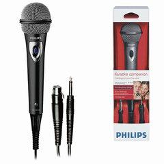 Микрофон PHILIPS SBCMD150/00, проводной, кабель 3 м, черный