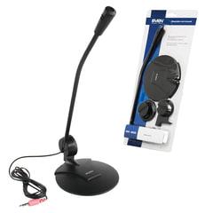 Микрофон настольный SVEN MK-200, кабель 1,8 м, 60 дБ, черный