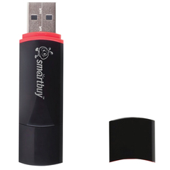 Флэш-диск 32 GB, SMARTBUY Crown, USB 2.0, черный