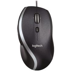 Мышь проводная LOGITECH M500, 5 кнопок + 1 колесо-кнопка, лазерная, черная