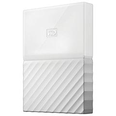 """Диск жесткий внешний WESTERN DIGITAL """"My Passport"""", 1 Tb, 2,5"""", USB 3.0, белый"""