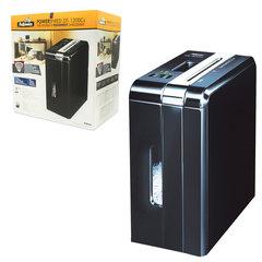 Уничтожитель (шредер) FELLOWES DS-1200Cs, на 1 человека, 3 уровень секретности, 4x50 мм, 12 листов