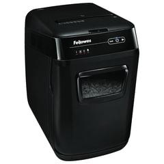 Уничтожитель (шредер) FELLOWES AutoMax 130C, для 3-5 человек, автоподача, 3 уровень секретности, 4x51 мм, 130 листов, 32 л