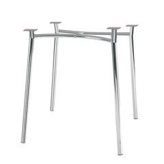"Рама стола для столовых, кафе, дома ""Tiramisu"" (800хг800 мм), хром"