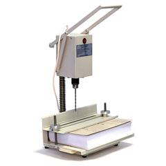 Станок для архивного переплета вертикальный УПД 2В, 250 Вт, с лотком, сшивка до 100 мм (950 л.)