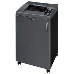 Уничтожитель (шредер) FELLOWES 4250C, для 20 человек, 4 уровень секретности, 4x40 мм, 27 листов, 120 л, скобы, скрепки, CD