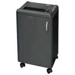 Уничтожитель (шредер) FELLOWES 1250C, для 3-5 человек, 4 уровень секретности, 4x40 мм, 18 листов, 35 л, скобы, скрепки, CD