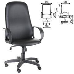 """Кресло офисное """"Фаворит"""", СН 279, высокая спинка, с подлокотниками, кожзаменитель, черное"""