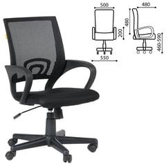 Кресло CH 696, с подлокотниками, черное