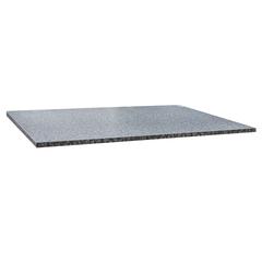 Столешница к столу для столовых 1200х800 мм, Corund 2502, ОСОБО ПРОЧНЫЙ ПЛАСТИК, бьянко сардо