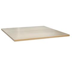 Столешница к столу для столовых 800х800 мм, Corund 3372, ОСОБО ПРОЧНЫЙ ПЛАСТИК, сосна лоредо