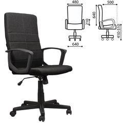 Кресло офисное BRABIX Focus EX-518, ткань, черное