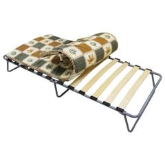 """Кровать раскладная (раскладушка), 1900х800х350 мм, на ламелях, с матрацем 50 мм, """"Камилла"""", ARNO"""