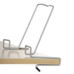 Подставка для книг ДЭМИ, металлическая, серая