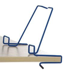 Подставка для книг ДЭМИ, металлическая, синяя