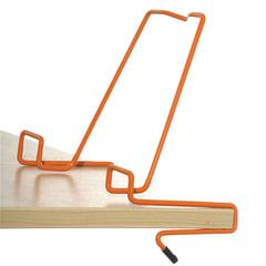 Подставка для книг ДЭМИ, металлическая, оранжевая, ПДК.02