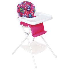 Кресло детское для кормления ДЭМИ КДС.03, съемный столик, цвет розовый/белый