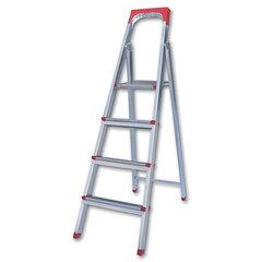 """Лестница-стремянка """"UFUK """", 86 см, 4 ступени, стальная, облегченная, вес 6,3 кг"""