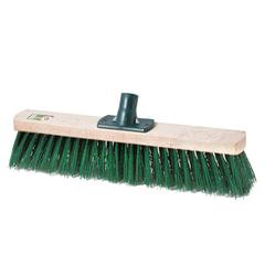 Щетка для уборки техническая, ширина 40 см, щетина 6,5 см, деревянная, еврорезьба, SVIP