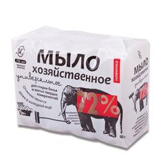 Мыло хозяйственное 100 г х 4 шт., 72% (Невская косметика)