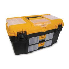 """Ящик для инструментов Уран, 21"""", 28х53х29 см, 3 бокса для мелочей, 2 выдвижные консоли, IDEA"""