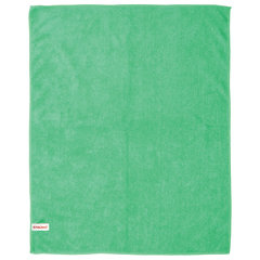 Тряпка для мытья пола, плотная микрофибра, 50х60 см, зеленая, ЛАЙМА