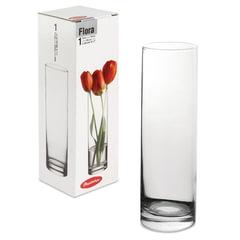 """Ваза """"Flora"""", колба, высота 26,5 см, стекло, PASABAHCE"""