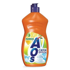 "Средство для мытья посуды 500 мл, AOS ""Лимон"""