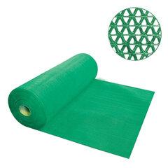 """Коврик входной противоскользящий VORTEX """"Zig-Zag"""", 90х1000 см, толщина 5 мм, ПВХ, зеленый"""