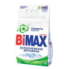 """Стиральный порошок-автомат 3 кг, BIMAX (Бимакс) """"Белоснежные вершины"""" (Нэфис Косметикс)"""