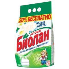 """Стиральный порошок-автомат 2,4 кг, БИОЛАН """"Белые цветы"""""""