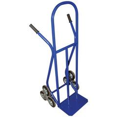 Тележка грузовая лестничная, с колесами КГЛ (грузоподъемность 200 кг, лестничные колеса на литой резине D=160 мм)